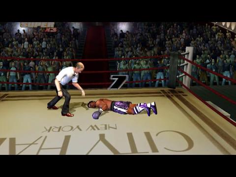 Rocky legends (PS2) Clubber Lang vs John Barkley (Career Clubber Lang)