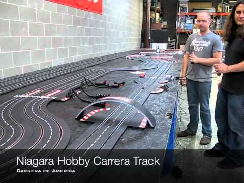 Electric Car Track Set