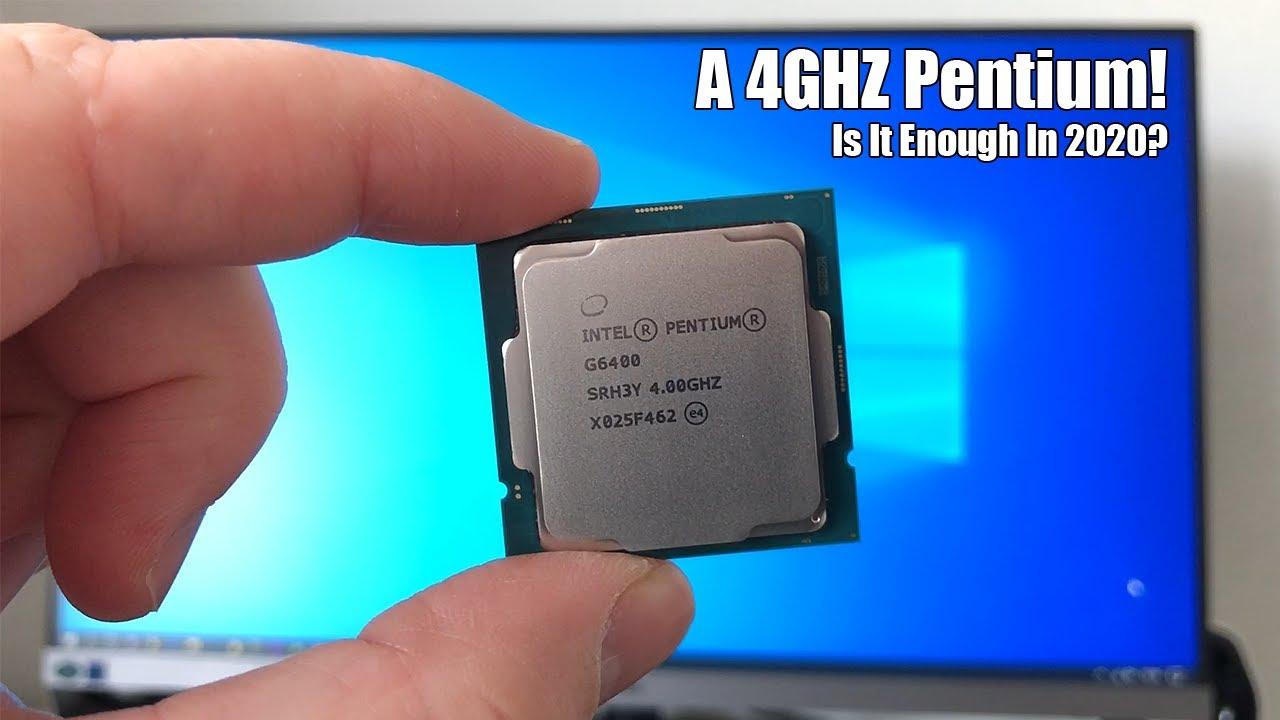 The 4GHz Pentium G6400 Review - Is It Worth It? - YouTube