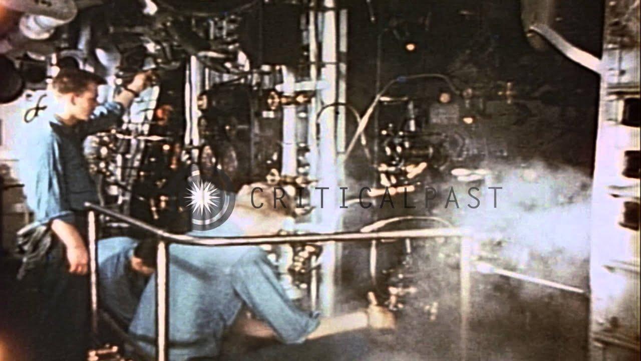 Destroyer Boiler Room