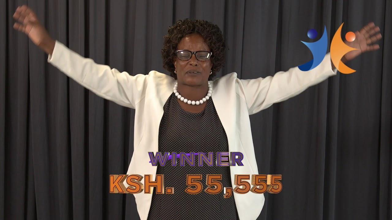 shabiki Jackpot Mbao 024 Winner - Jane Wanjiru