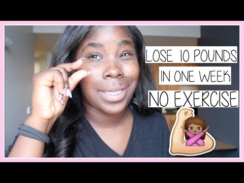 Lose 10 Pounds In 1 Week No Exercise Youtube