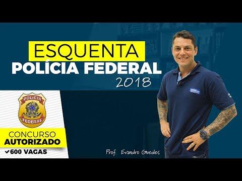 Série Esquenta PF 2018 - Evandro Guedes - Direito Penal - AlfaCon Concursos Públicos