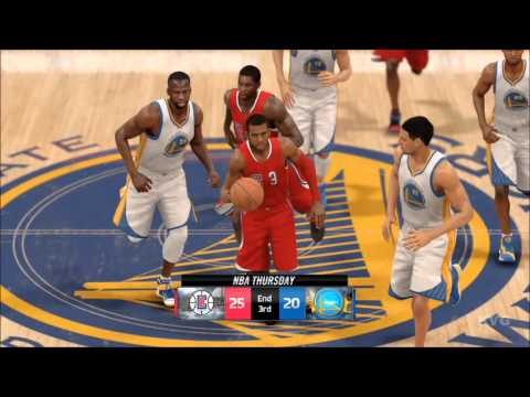NBA Live 16 - Los Angeles Clippers vs Golden State Warriors Gameplay (XboxONE HD) [1080p60FPS]