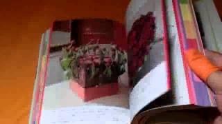 Floral Design 500 Encyclopedia book from Japan Japanese flower ikebana (0871)