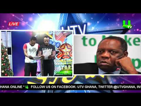 Akrobeto and Funny Face present Sports News on UTV Day With The Stars