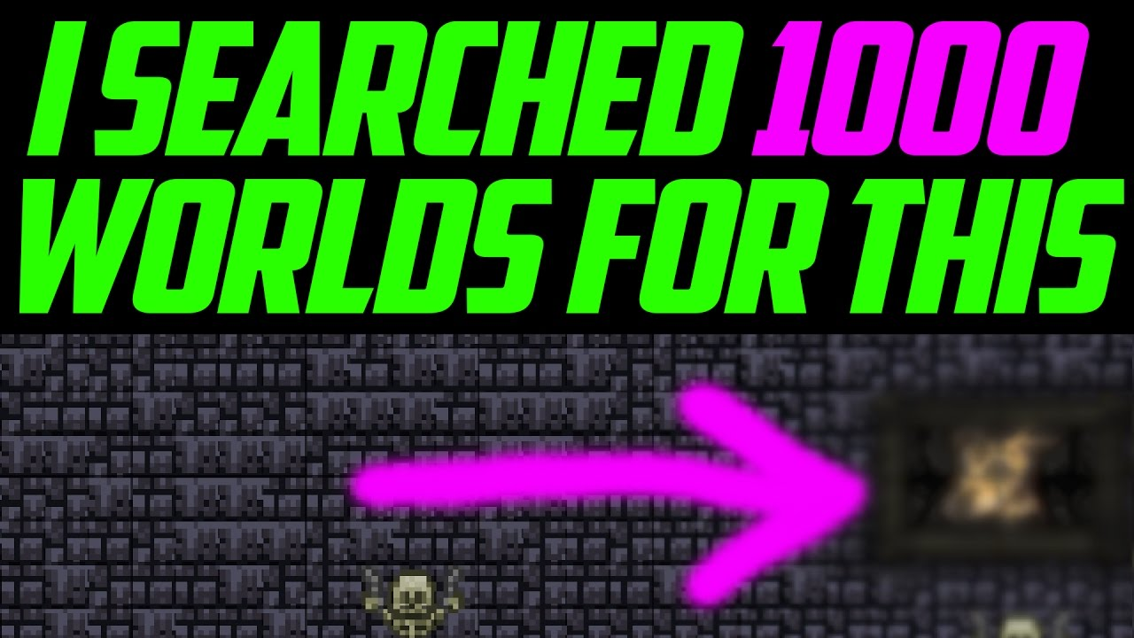 4938ee480a0eeb I Searched 1000 Worlds For THIS Item In Terraria! The Rarest Items In  Terraria PC 1.3.4?