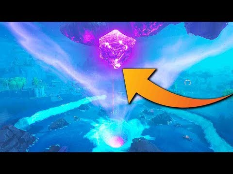 the Cube is MELTING into LOOT LAKE!!