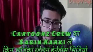 Sabin Karki(Cartoonz Crew) statement