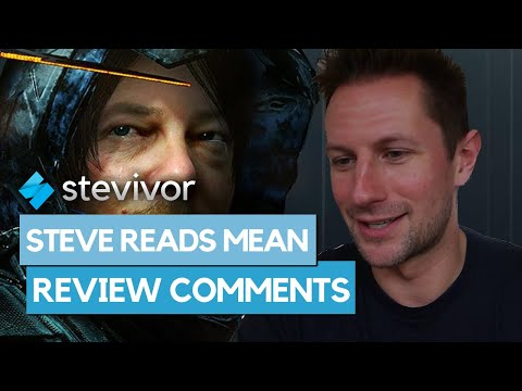 Steve reads mean Death Stranding review comments