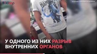Иссык-Куль: водитель «Субару» сбил двух патрульных милиционеров