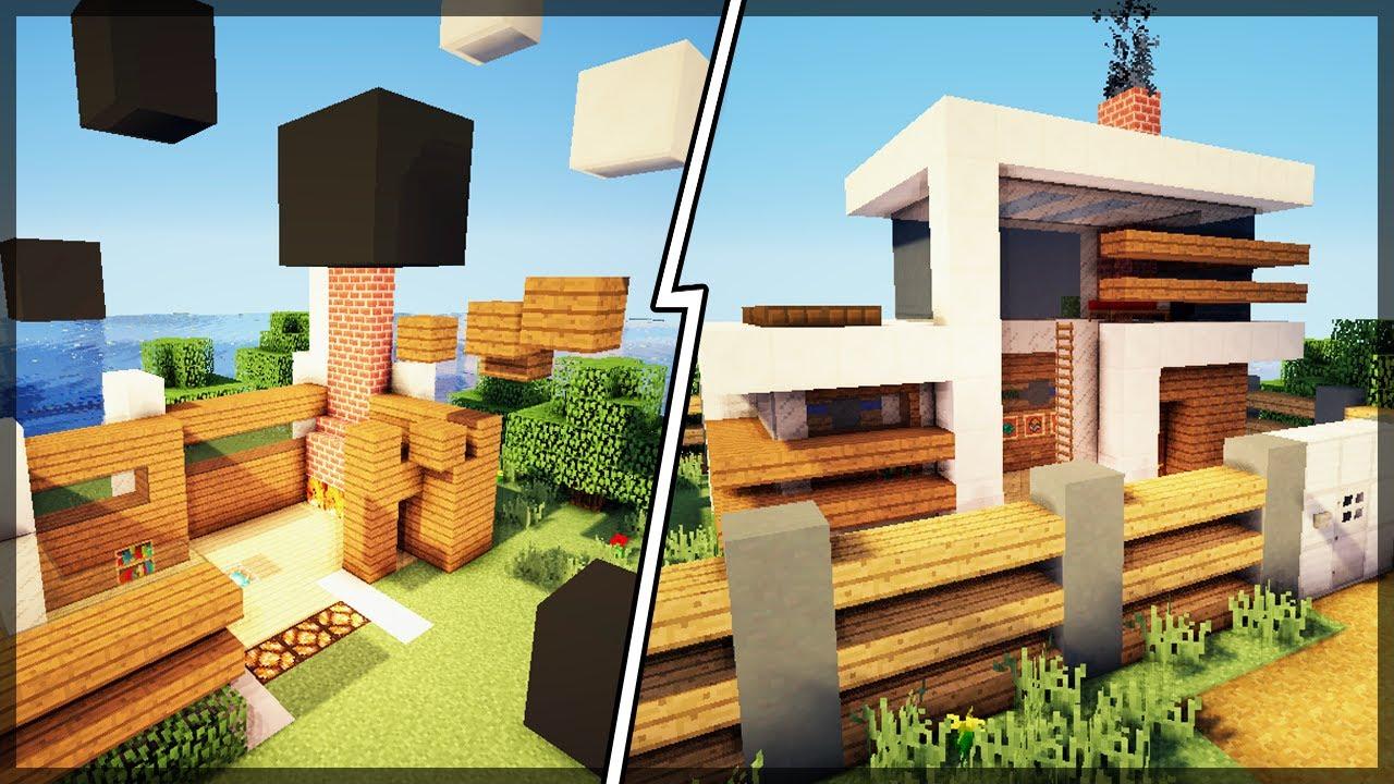 Minecraft Essa Casa Moderna Autom Tica Se Constr I