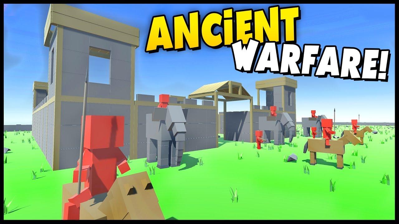 Ancient Warfare 2 ancient warfare 2 - castles! siege mode, castle, war elephant, sling men &  more! [ancient warfare]
