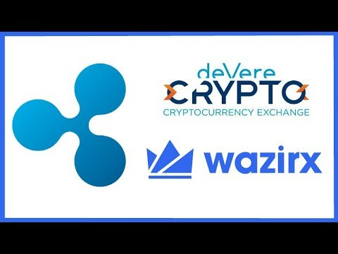 DeVere Crypto Exchange Giving Away Free XRP - WazirX Lists XRP - Bithumb & Korea Pay in 8,000 Stores
