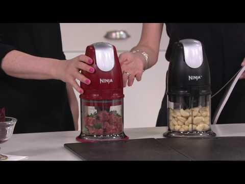 Ninja Master Prep Food & Drink Maker W/48, 40, & 16 Oz. Bowls On QVC