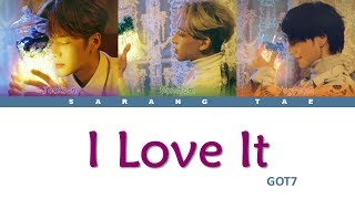 GOT7 (갓세븐) - 'I love It' Lyrics [Color Coded_Han_Rom_Eng]