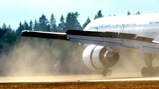 Landings on a Dusty Runway, Boeing 757-200