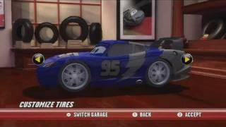 Cars Race-O-Rama Nintendo Wii, Nintendo DS