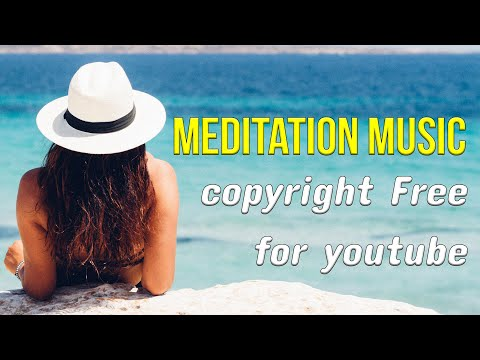 [Free Meditation Music for youtube videos] (relaxing music to help you sleep)(Piano calming sounds).