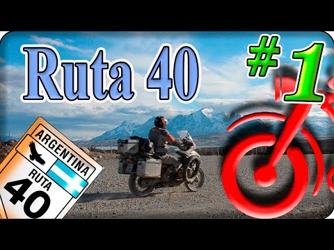 La Ruta 40 en moto. La Circunvalción del Cono Sur, (1/5) Around the world motorcycle