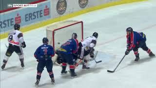 Highlights: EBEL - 37. Runde: KHL Medvescak Zagreb - Dornbirner EC 2:10