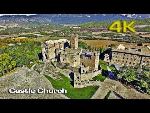 DJI Phantom 3 Castle Church [4K]