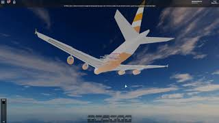FLIGHT WITH THE A380? | ROBLOX FlyKutos Flight