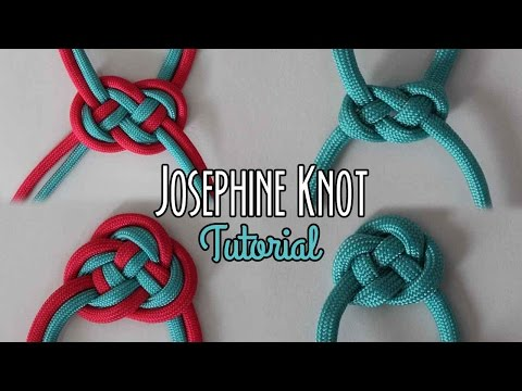 Josephine Knot Tutorial - YouTube