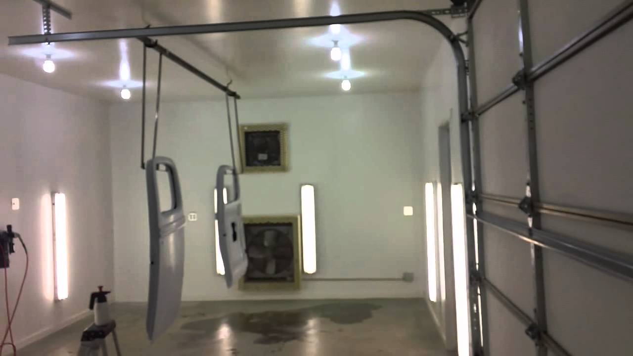 Home Made Spray Booth - YouTube