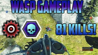Halo 5 Wasp Gameplay - Inconceivable/Unfriggenbelievable, 81 Kills On Dispelled