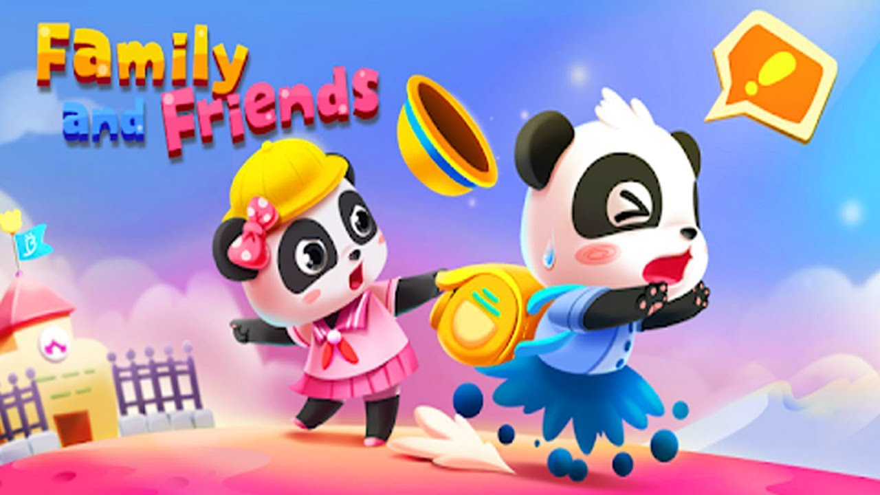 Baby Panda's Family and Friends | Baby Panda Kids Games
