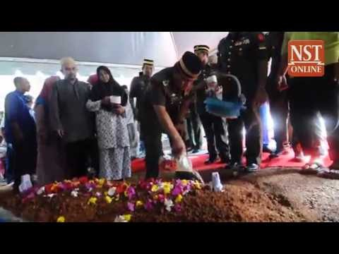 Remains of Malaysian defence attache to Indonesia laid to rest