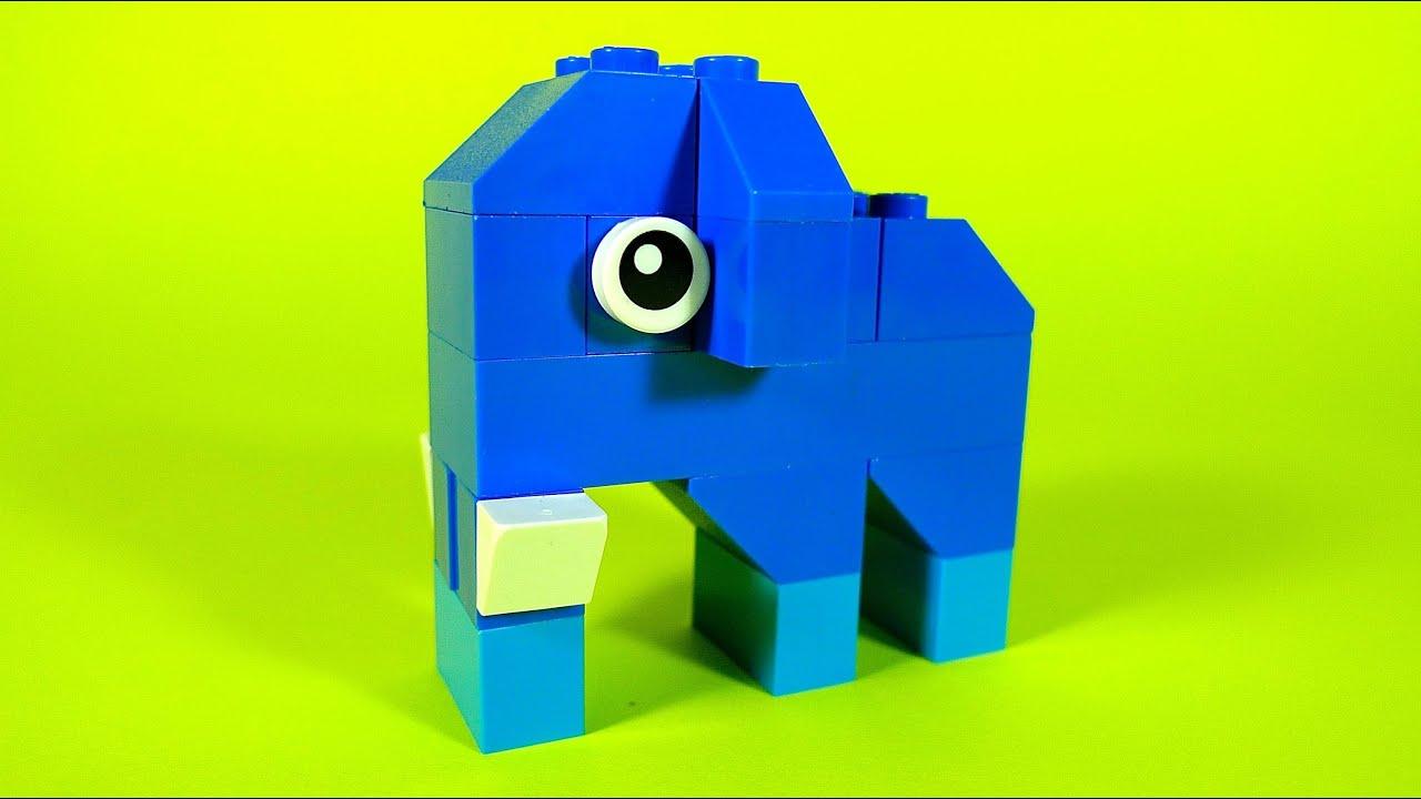 Simple Lego Build Instructions Elephant