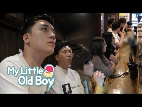 Seung Ri's Market Research in English and Japanese! [My Little Old Boy Ep 94]
