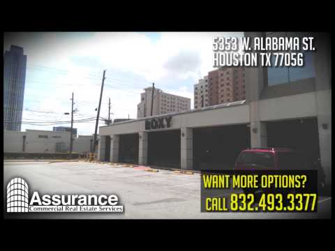 5353 W. Alabama St. 77056  Houston Office Space: Assurance Commercial