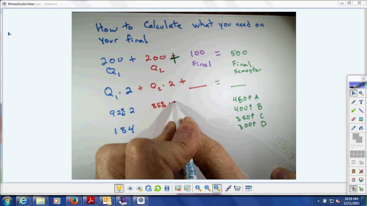 How To Calculate Semester Grade