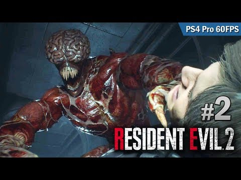 #2 初遇獵食者 | Biohazard RE:2  (Resident Evil 2 remake) PS4 Pro 60 FPS