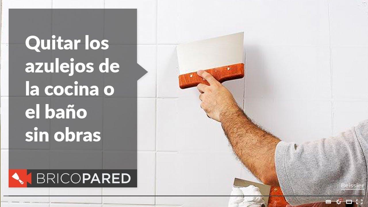 Quitar los azulejos de la cocina o ba o sin obras - Quitar azulejos cocina ...