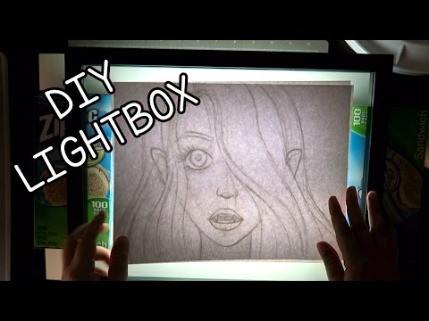 DIY Lightbox Ideas For Tracing