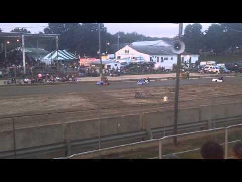 Kart racing #2 Athens county fair 2015