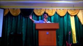Ps Justin Preaching @ Calvary Church, Lawas Sarawak