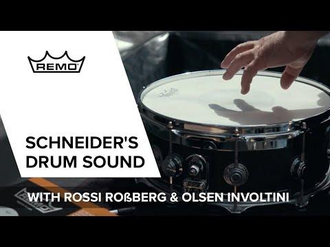 Christoph Schneider On REMO Drum Heads / The Setup