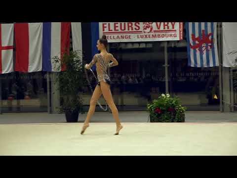 Alexandra Evdokimova RUS hoop 4th place