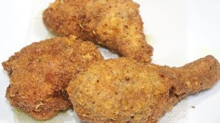 KFC Style Chicken Fry Recipe | Very Crispy and Juicy Chicken Fry