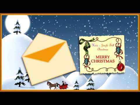 A Jingle Bell Christmas Animated Musical Free eCard