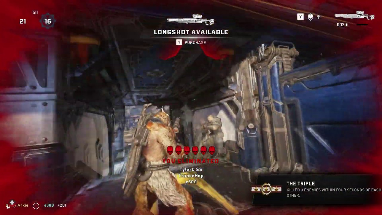 Gears 5 beta leftovers. (SH*T CLIPS)