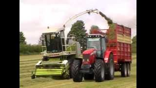 Walker Contracts Silage Harvesting