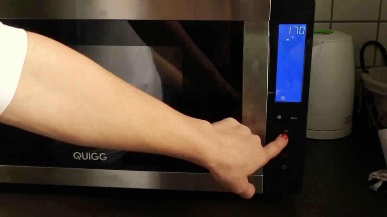 Quigg Elektrogrill Test : Aldi mikrowelle quigg 4in1 bedienung und inbetriebnahme grill