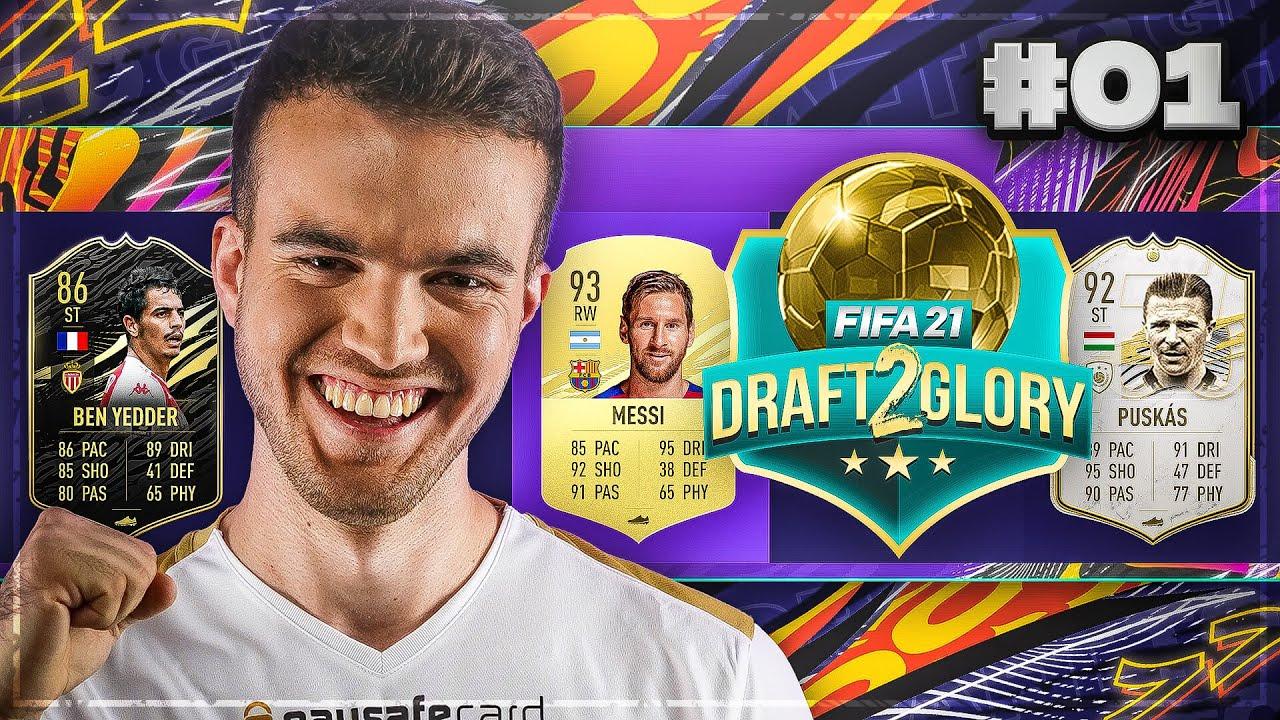WOW! WAS FÜR EIN START! #1 ? | FIFA 21 DRAFT TO GLORY [DEUTSCH]