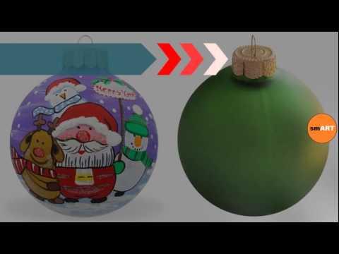 Ornament Balls  Ball Christmas Ornaments  YouTube